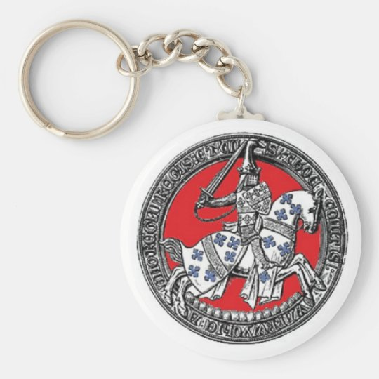 Knight in Shining Armour Key chain