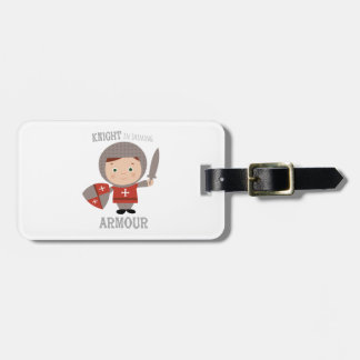 Knight In Shining Armour Luggage Tag