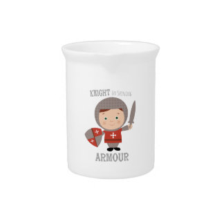 Knight In Shining Armour Drink Pitchers