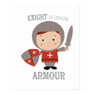 Knight In Shining Armour Post Card