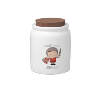 Knight In Shining Armour Candy Jars