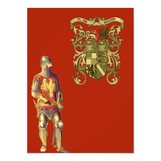 Knight in Suit of Armor Card