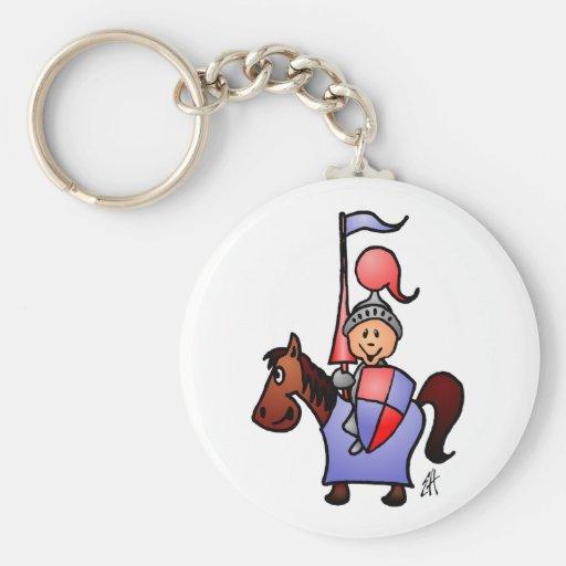 Knight Key Chain