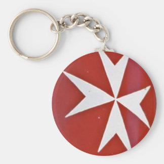 Knight of St John, Malta (1) Key Ring