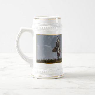 Knight of the Storm 18 Oz Beer Stein
