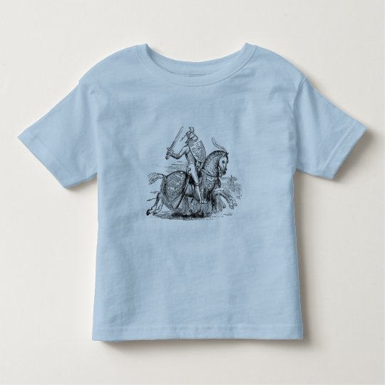 Knight on Horsback Kid's Shirt