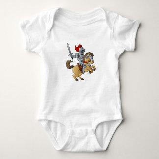 Knight on Horse Baby Bodysuit