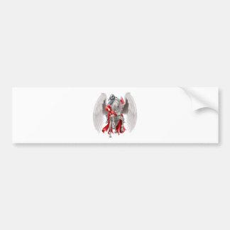 Knight on Pegasus Horse Bumper Sticker