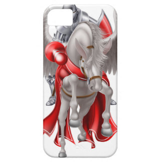 Knight on Pegasus Horse iPhone 5 Cover