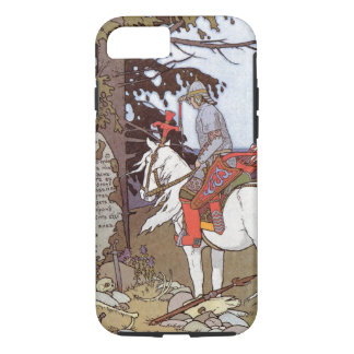 Knight on White Horse iPhone 7 Case