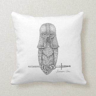 Knight Owl Cushion