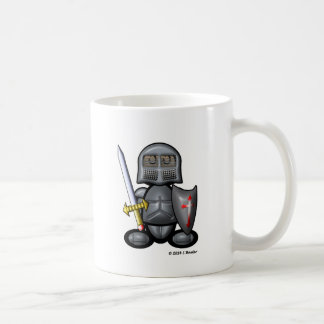 Knight (plain) coffee mug