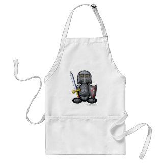 Knight (plain) standard apron