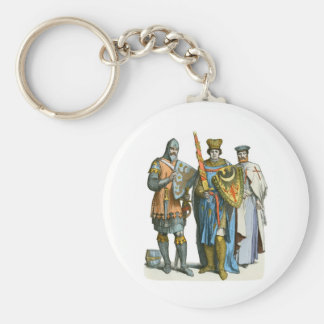 Knight, Prince and Templar - Period Costumes Key Ring