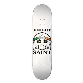 Knight Saint Skull 20.6 Cm Skateboard Deck