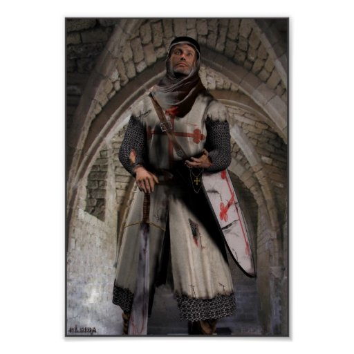 Knight Templar - The last stand Poster