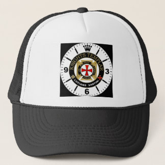 KNIGHT TEMPLAR TRUCKER HAT