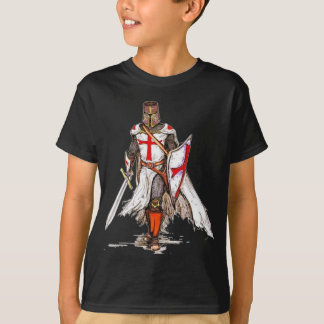 knight templar tshirt childs