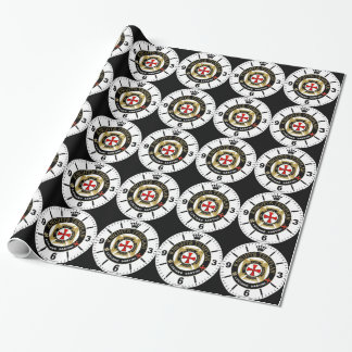 KNIGHT TEMPLAR WRAPPING PAPER