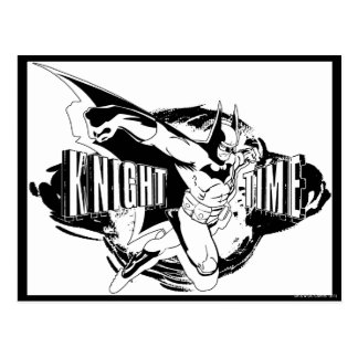 Knight Time Sketch Postcard