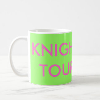 Knight Tour Chess Mug