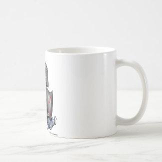 Knight (with logos) coffee mug
