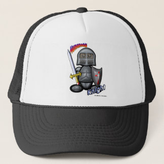 Knight (with logos) trucker hat