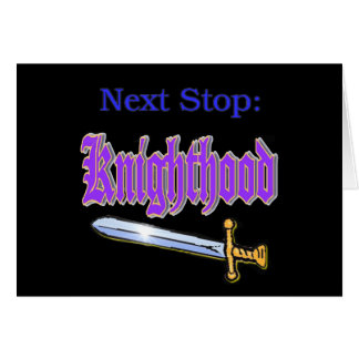 Knighthood Card