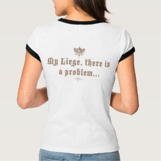 Knighthoodd - My Liege, Ladies Chocolate T-Shirt