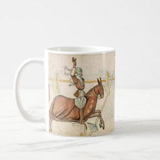 Knightly tournament mug