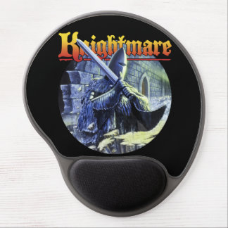 Knightmare Fright Knight gel mouse mat