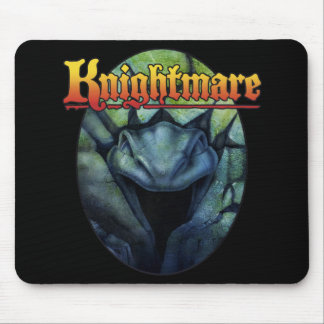 Knightmare serpent mouse pad