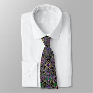 Knight's Armour Metallic Mandala Tie