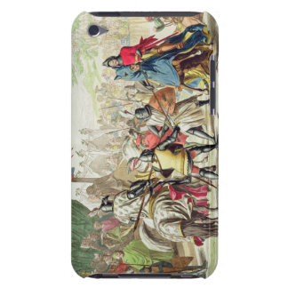 Knights Duelling on Foot in a Tournament, plate 1 Barely There iPod Cover