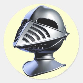 Knights Helmet Stickers