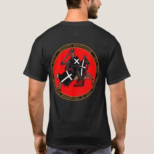 Knights Hospitaller Charging into Battle Seal Shir T-Shirt