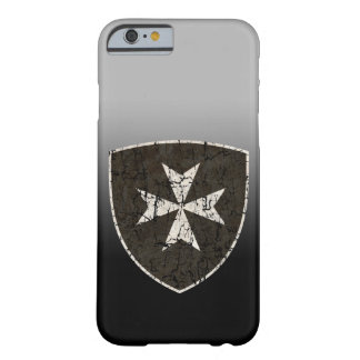 Knights Hospitaller Cross, Distressed Barely There iPhone 6 Case