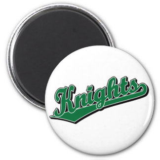 Knights in Green Magnets