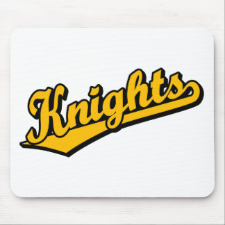 Knights in Orange Mouse Pad