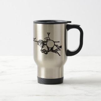 Knights Jousting Coffee Mugs