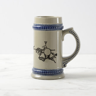 Knights Jousting Coffee Mug