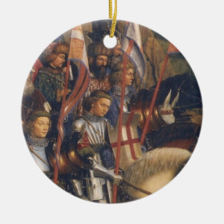 Knights of Christ (Ghent Altarpiece), Jan van Eyck Christmas Ornament