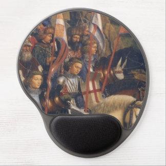 Knights of Christ Ghent Altarpiece Jan van Eyck Gel Mouse Pads