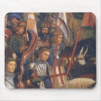 Knights of Christ Ghent Altarpiece Jan van Eyck Mouse Pad