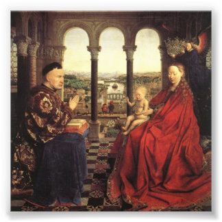 Knights of Christ (Ghent Altarpiece), Jan van Eyck Photo