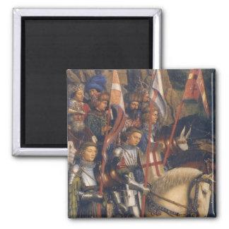 Knights of Christ Ghent Altarpiece Magnet