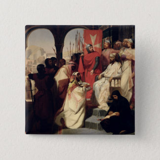 Knights of the Order of St. John of Jerusalem 15 Cm Square Badge