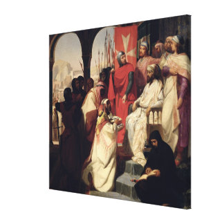 Knights of the Order of St. John of Jerusalem Canvas Print