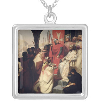Knights of the Order of St. John of Jerusalem Silver Plated Necklace