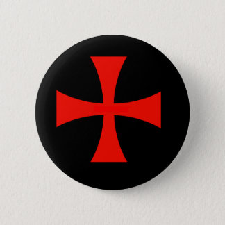 Knights Templar 6 Cm Round Badge